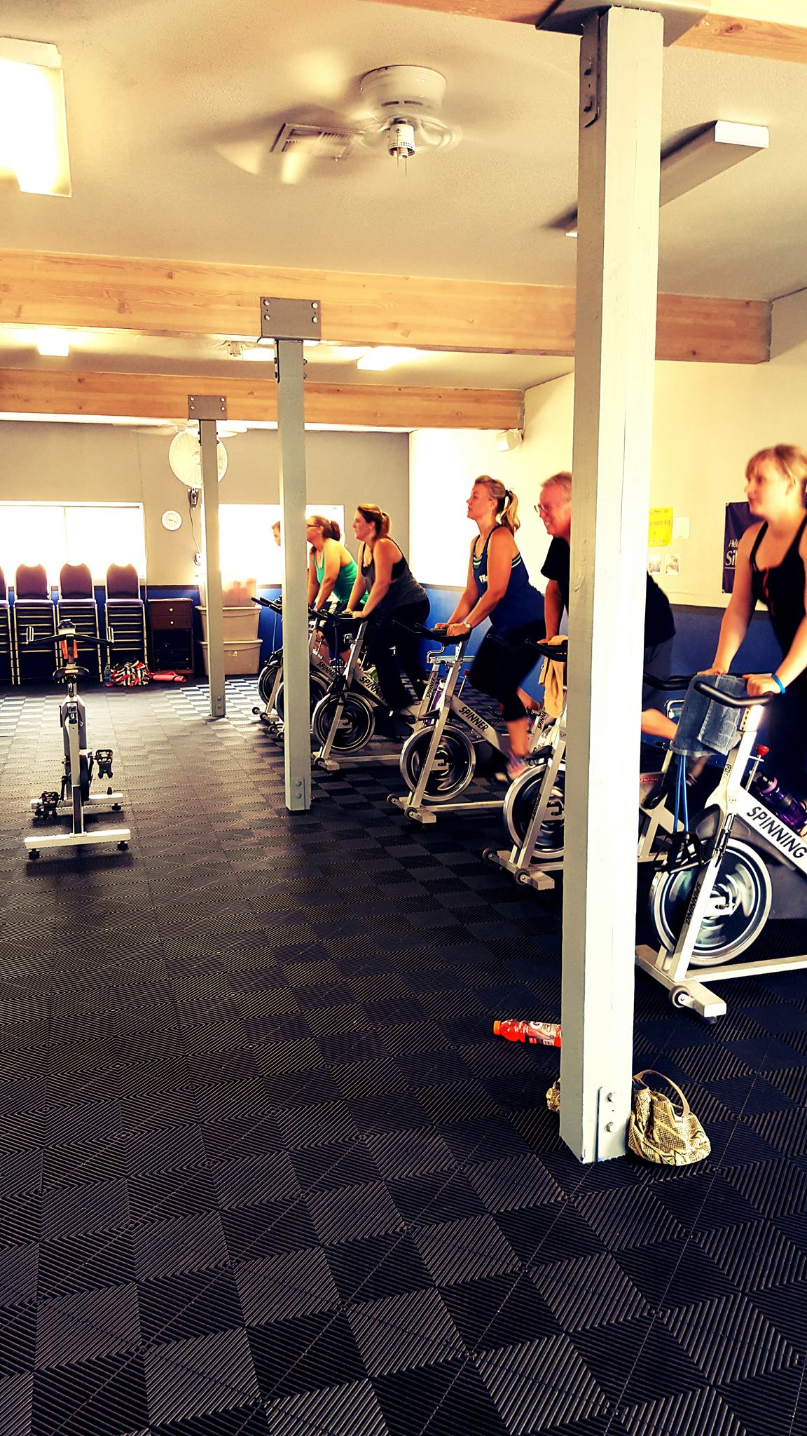 Gym With Stationary Bikes - Ribtrax