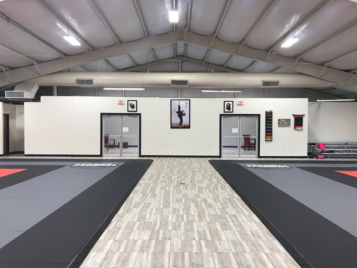 Kenpo Speakman Gym Floor-VT