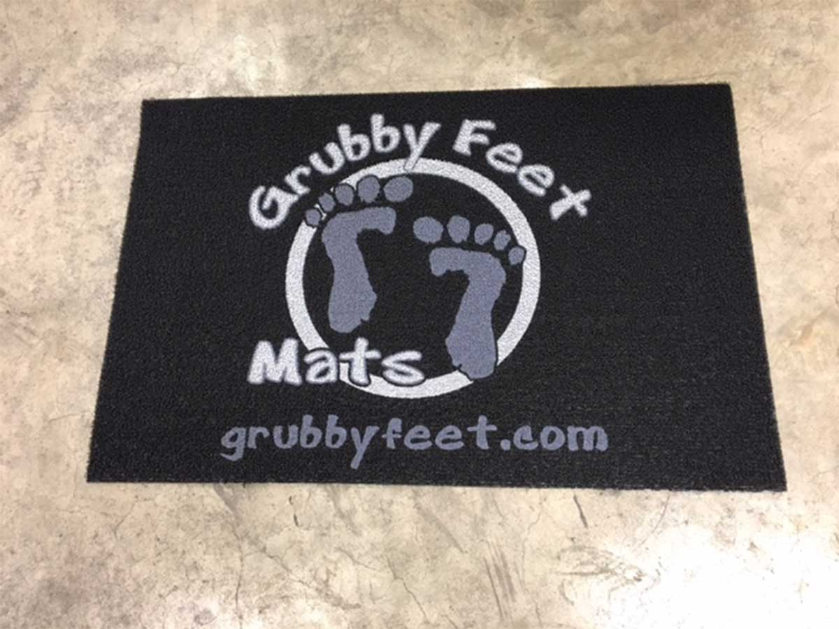 Direct Print Front Runner Floor Mat In Use