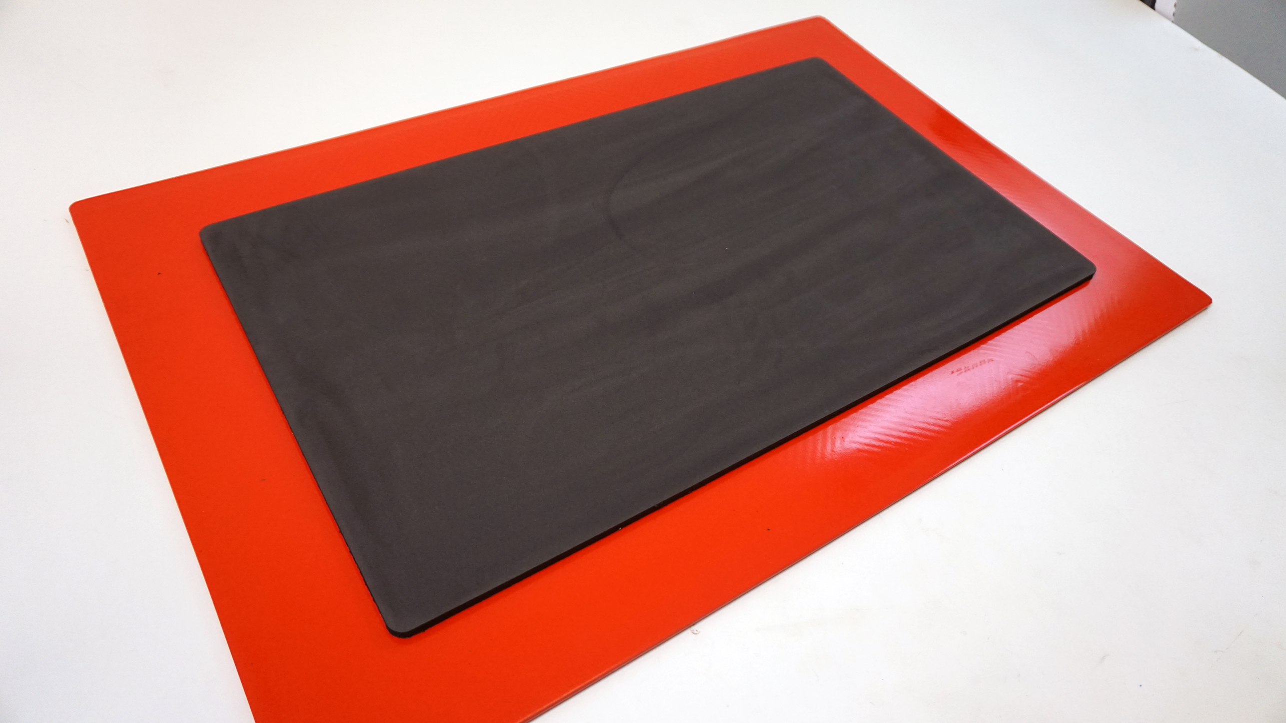Back of Molded Anti-Fatigue Floor Mat