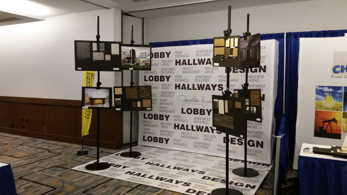 Baron Designs Trade Show Floor 2