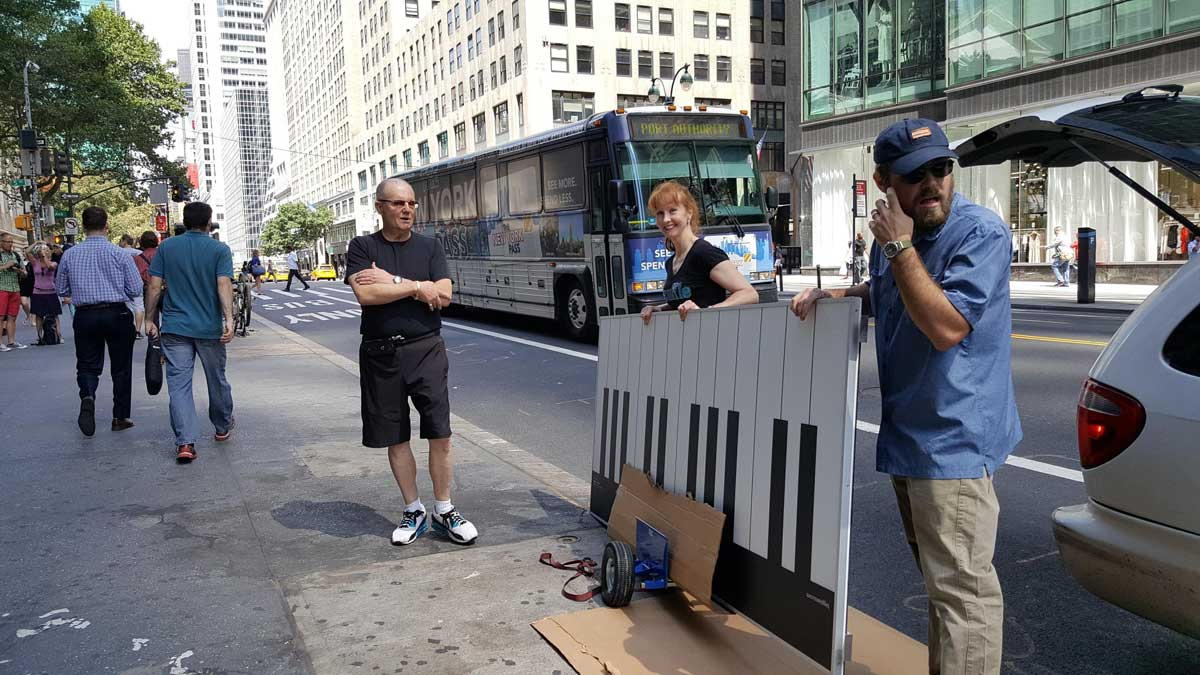 Big Piano Delivery New York 5th Avenue
