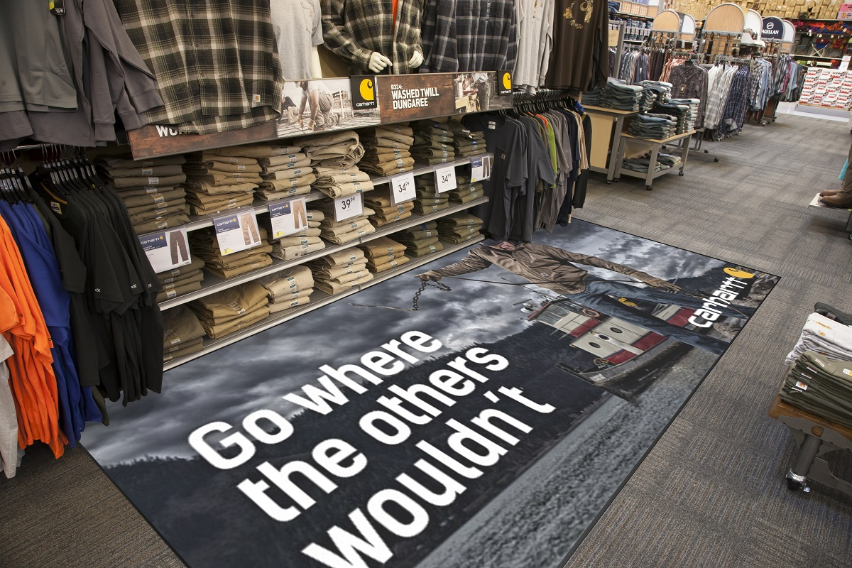 Carhartt Retail Display Mat
