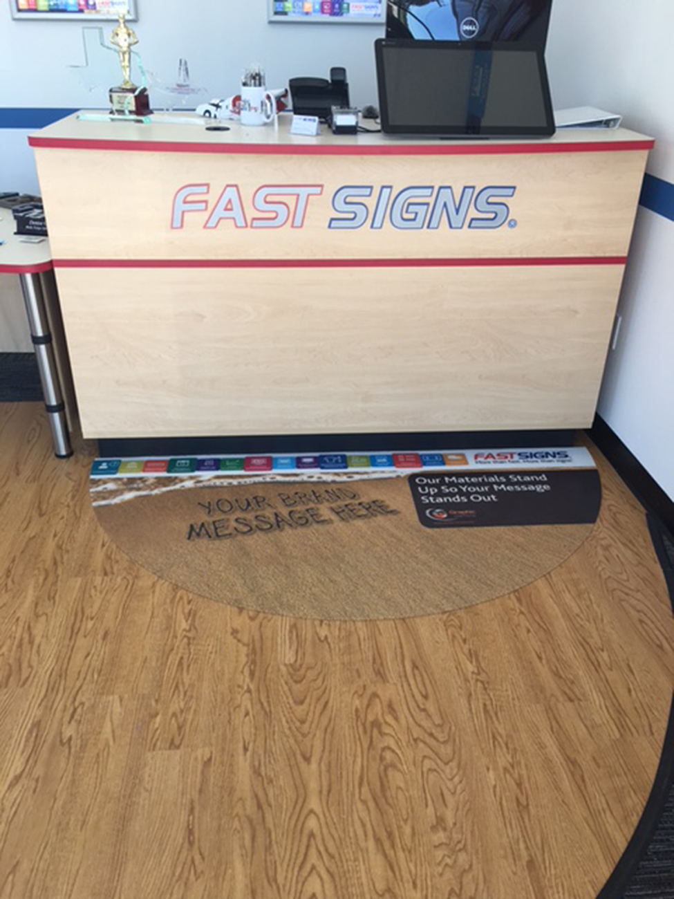 FASTSIGNS COUNTER MAT