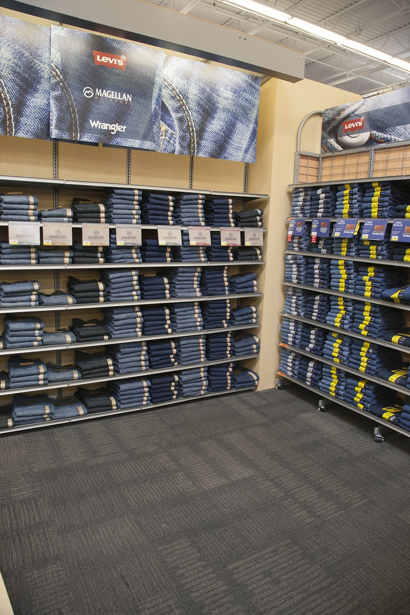 Jeans Display Before