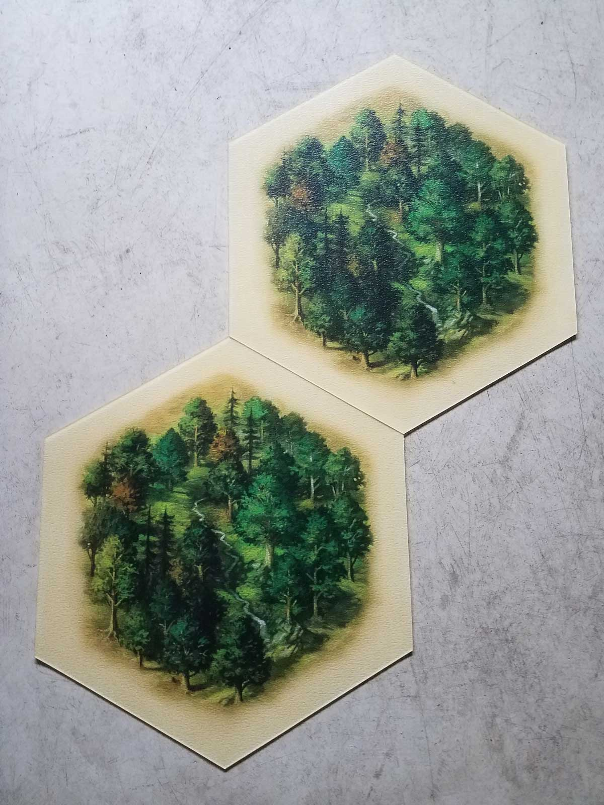 Mammoth Catan Game Pieces 2