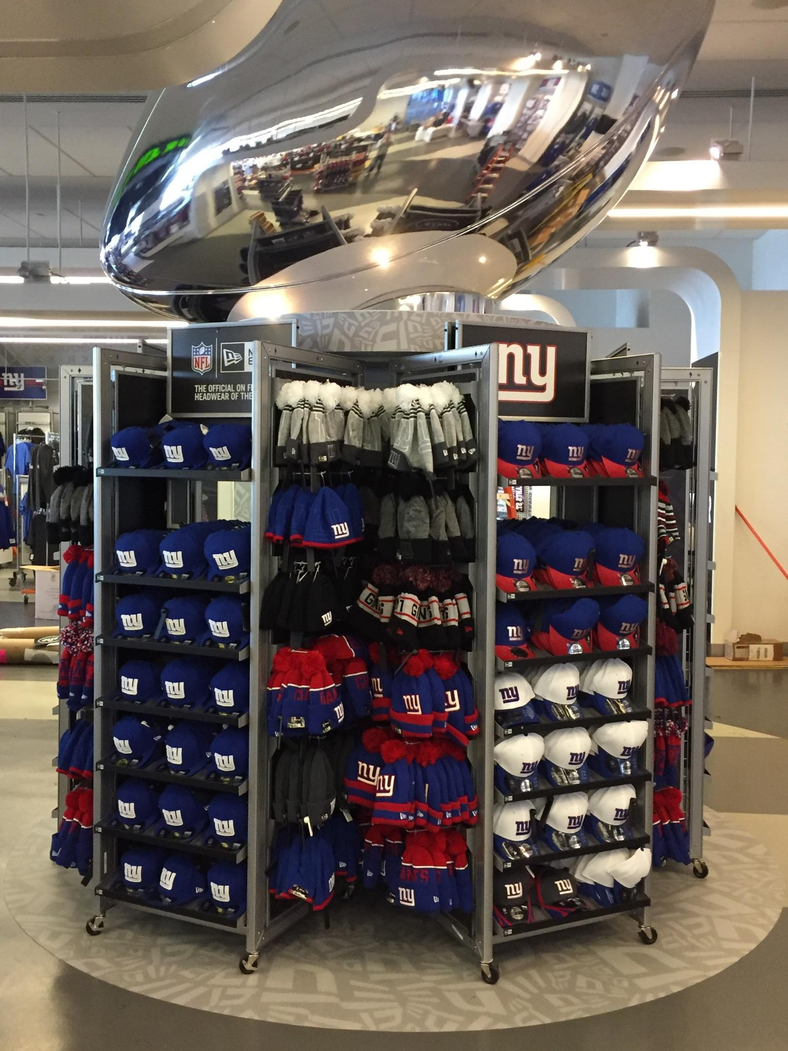 New Era Hats at Met Life Stadium