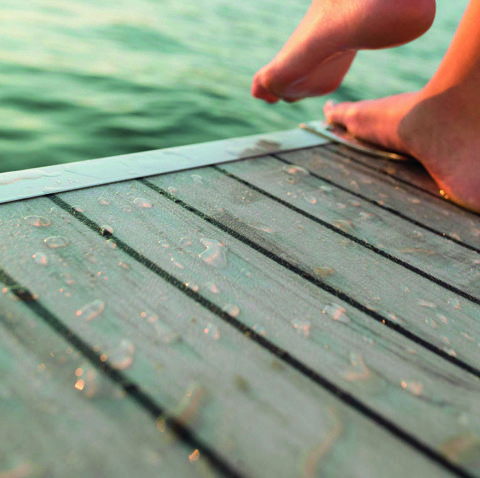 Outstanding Durability with AquaTread Pontoon Flooring
